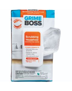 Grime Boss Scrubbing Household Disinfectant Wipes (576 Total Wipes)