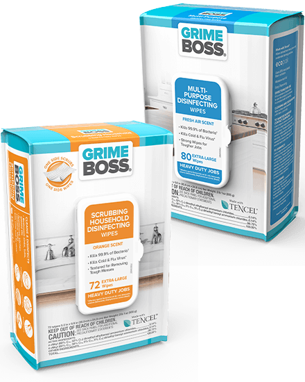 GRIME BOSS Disinfecting Wipes