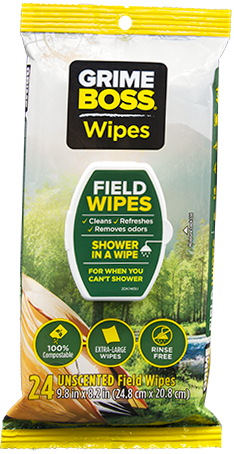 GRIME BOSS Field Wipes