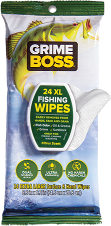 GRIME BOSS Fishing Wipes