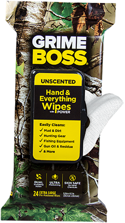 GRIME BOSS Hand & Everything Wipes